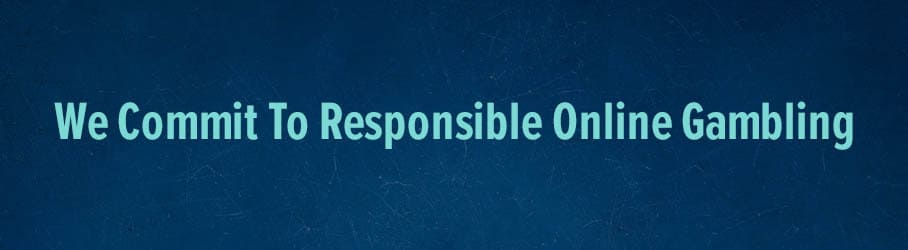 We Commit To Responsible Online Gambling