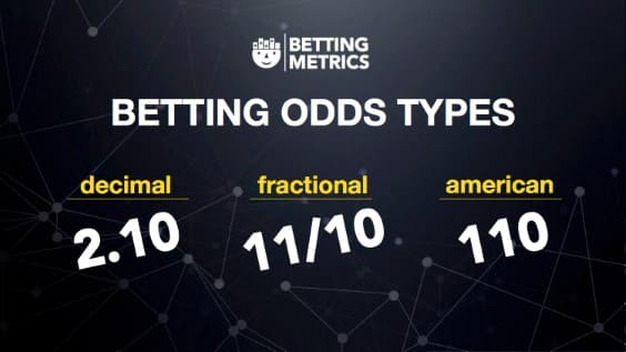 Betting odds types explanation