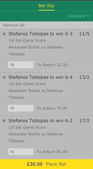 bet365 tennis bet slip
