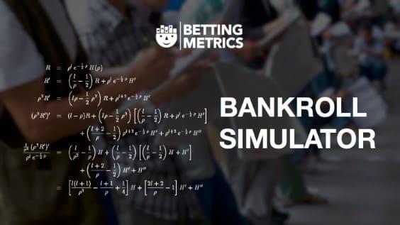 Bankroll simulator